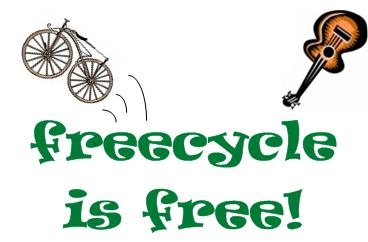 Freecycle is Free Logo