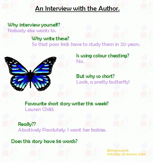 An Interview with the Author