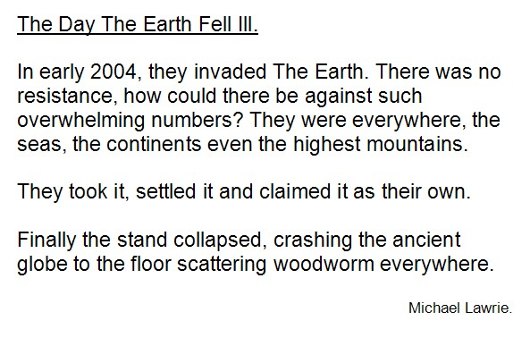 The Day The Earth Fell Ill