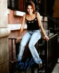 Amy Jo Johnson 1 (10x8)   Excellent Signature.