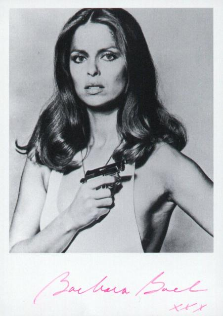 Barbara Bach 1 (4x3)   Excellent Signature.