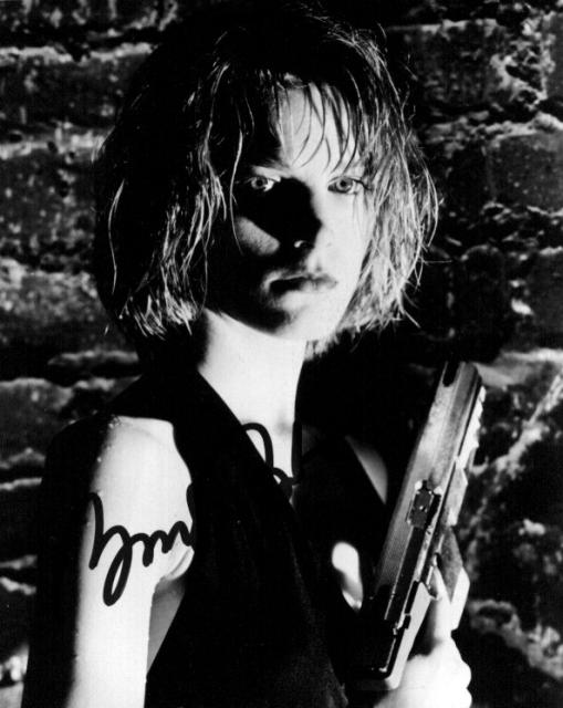 Bridget Fonda 1 (10x8)   Slight lifting on Signature.