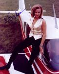 Honor Blackman 1 (10x8)   Excellent Signature.