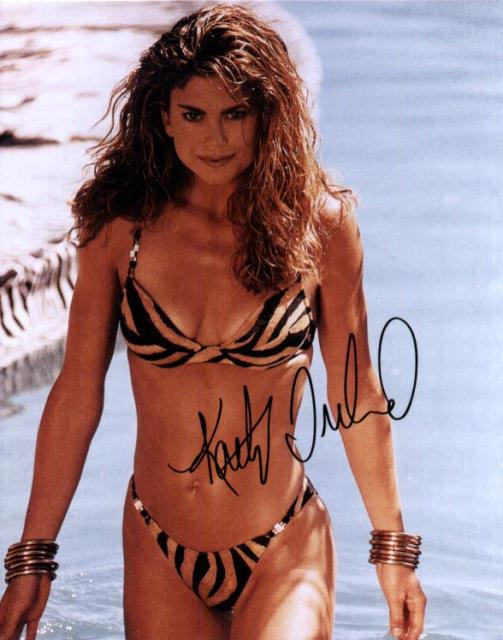Kathy Ireland 3 (10x8)   Slight lift on first name of Signature.