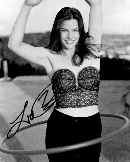 Liv Tyler 1 (10x8)   Very slight liting on Signature .