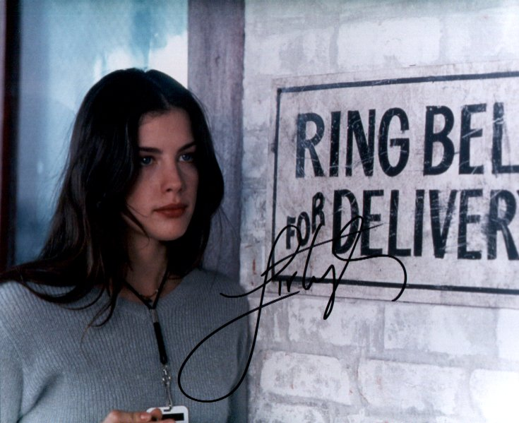 Liv Tyler 5 (10x8)   Excellent Signature.