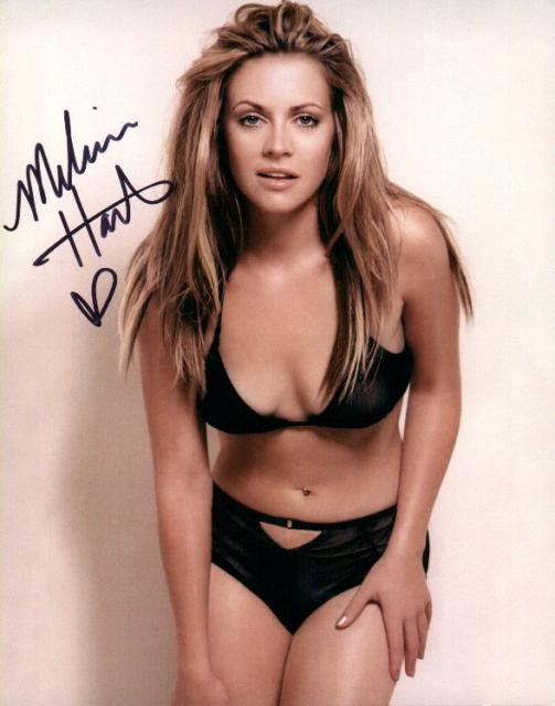 Melissa Joan Hart 2 (10x8)   Excellent Signature.