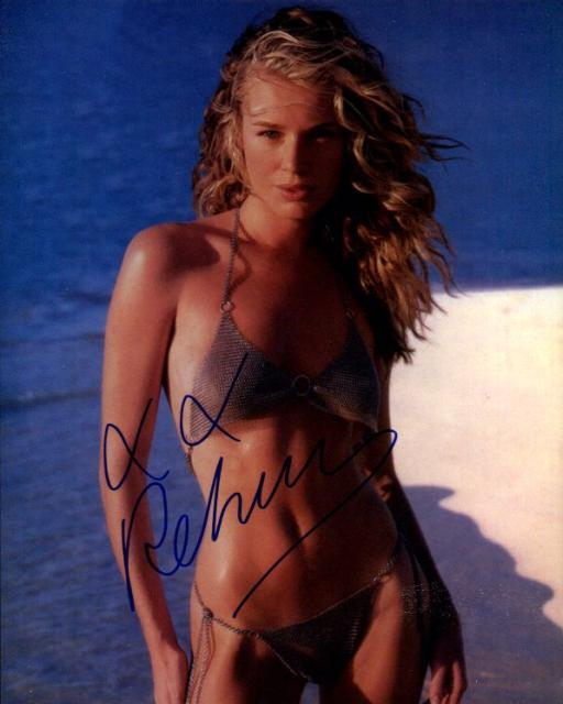 Rebecca Romijn Stamos 2 (10x8)   Slight lifting on Signature.