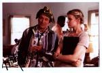 Robin Williams & Monica Potter - Patch Adams (10x8). Signed by Monica, excellent signature but bad printing on Kodak Paper.