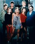 Buffy Cast (10x8)   Seven Signatures of all the people pictured, all in excellent condition.
