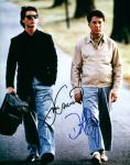 Rainman: Tom Cruise and Dustin Hoffman (10x8)   Signed by both. Excellent Signatures.