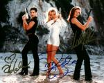 VIP Cast 2 (10x8)   Signed by all three. 1st sig is 50% lifted, second has a small lift and the 3rd has some small flaws.