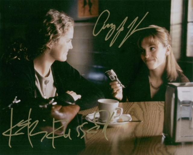 Felicity: Keri Russell and Amy Jo-Johnson (10x8)   Signed by both, with excellent signatures.