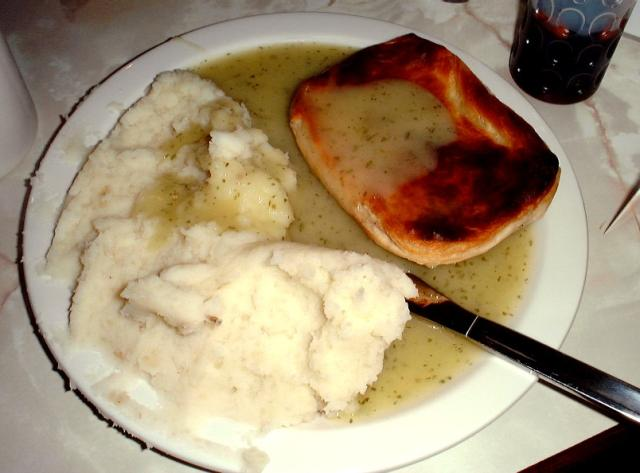 The old Cockney favourite, Pie and Mash.