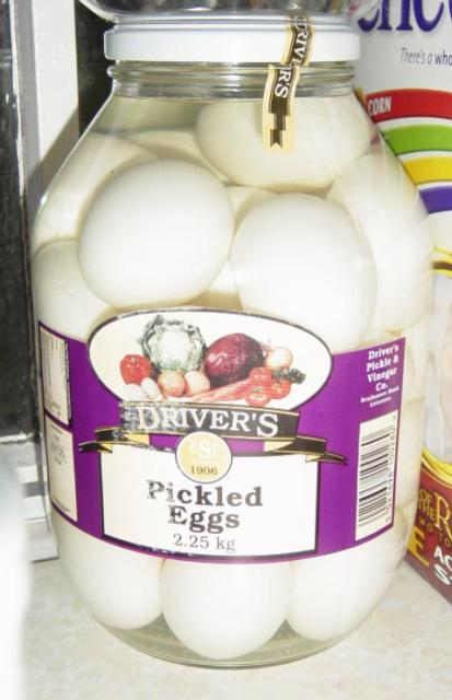 Jar of Pickled Eggs in