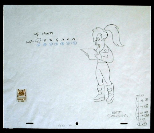 drawing-futurama-leela2-signed