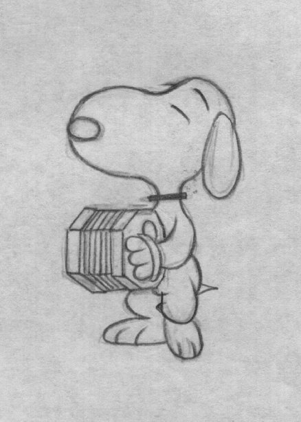 drawing-snoopy-accordian