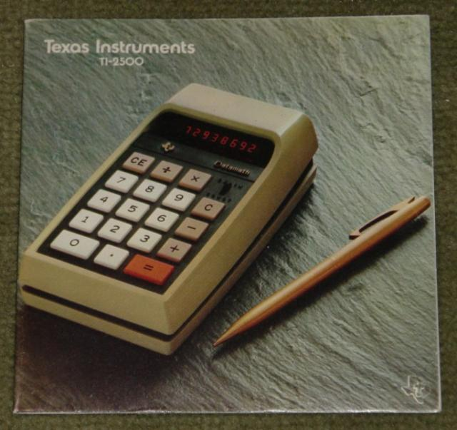 1972: Texas Instruments TI-2500 Datamath Manual