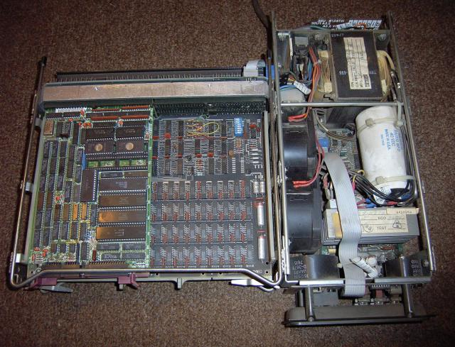 1975: LSI-11 or PDP-11/03 (187) - Inside