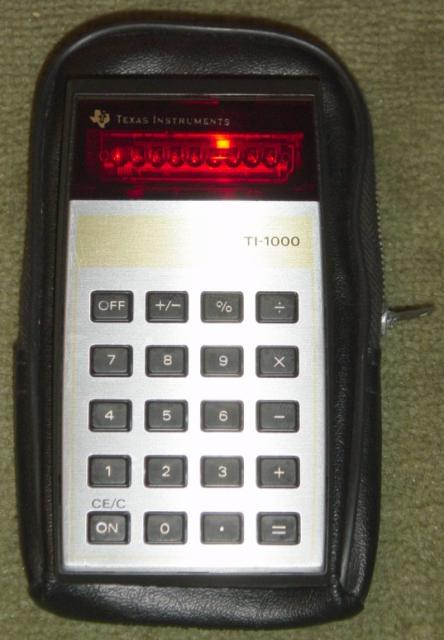 1977: Texas Instruments TI-1000