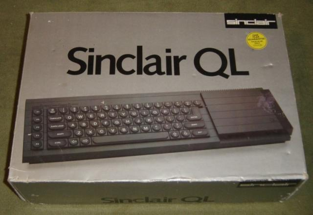1984: Sinclair QL Box