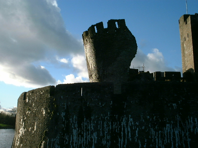 Caerphilly Castle 1