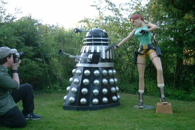 Dalek and Lara Photoshoot